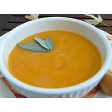 Butternut & Sweet Potato Soup